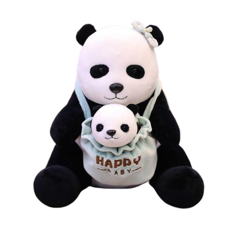 Panda Plush Happy Baby