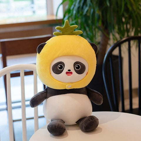 Pineapple <br> Panda Plush
