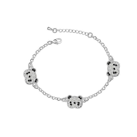 three-panda-head-bracelet