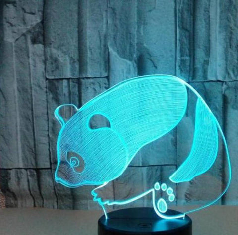 Sitting Panda  Lamp | We Love Panda