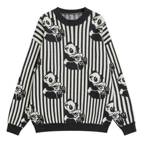 Sweater Panda Vintage | We Love Panda