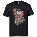 black-t-shirt-panda-japanese