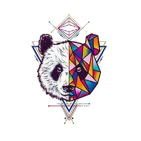 watercolor-panda-temporary-tattoo