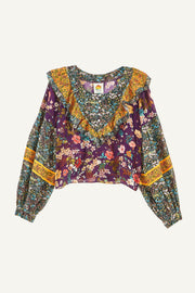 DITSY FLORAL MIX BLOUSE