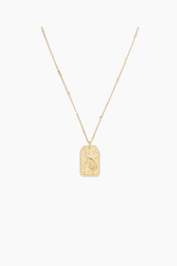 TIGER TOTEM NECKLACE- GOLD