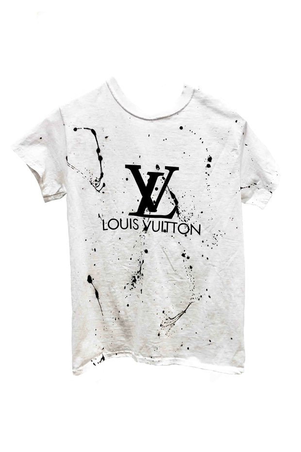 SPLATTER ON MY LV TEE