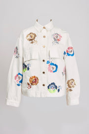 ZESERT EMBROIDERED JACKET