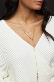 LAGUNA ADJUSTABLE NECKLACE- GOLD