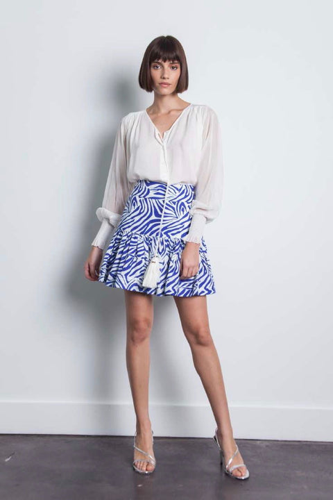 LULI PRINT MINI SKIRT