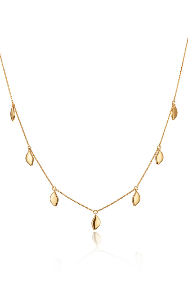 FOLI NECKLACE- GOLD