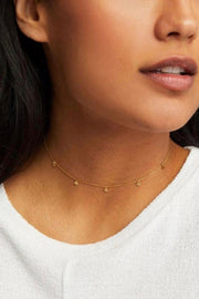 5 DISC CHOKER- GOLD