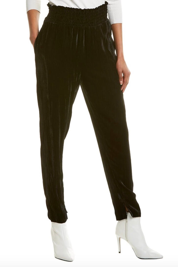 VELVET TAPERED PANT