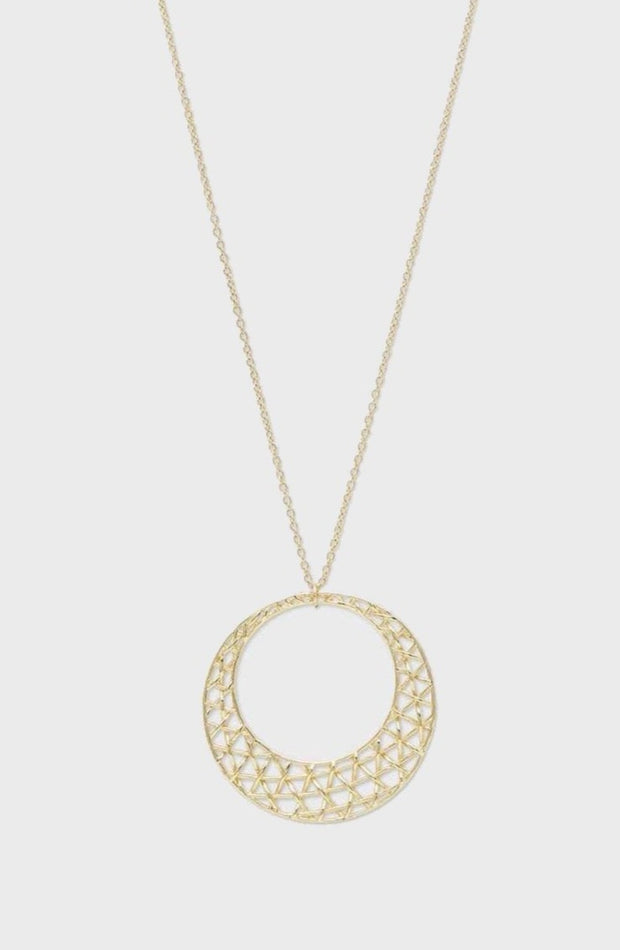 TULUM PENDANT NECKLACE- GOLD