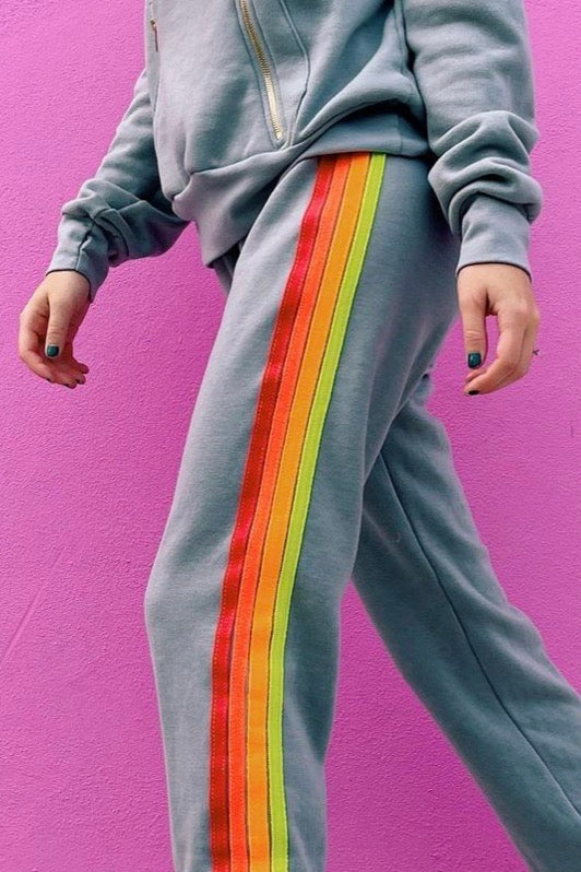 4 STRIPE SWEATPANT