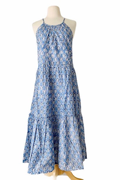 EVA BLOCK PRINT DRESS
