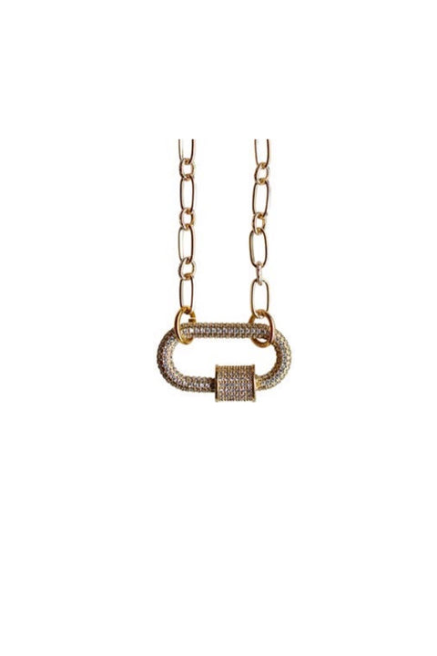 CANDY LOCK NECKLACE