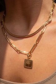 ROMA NECKLACE- GOLD