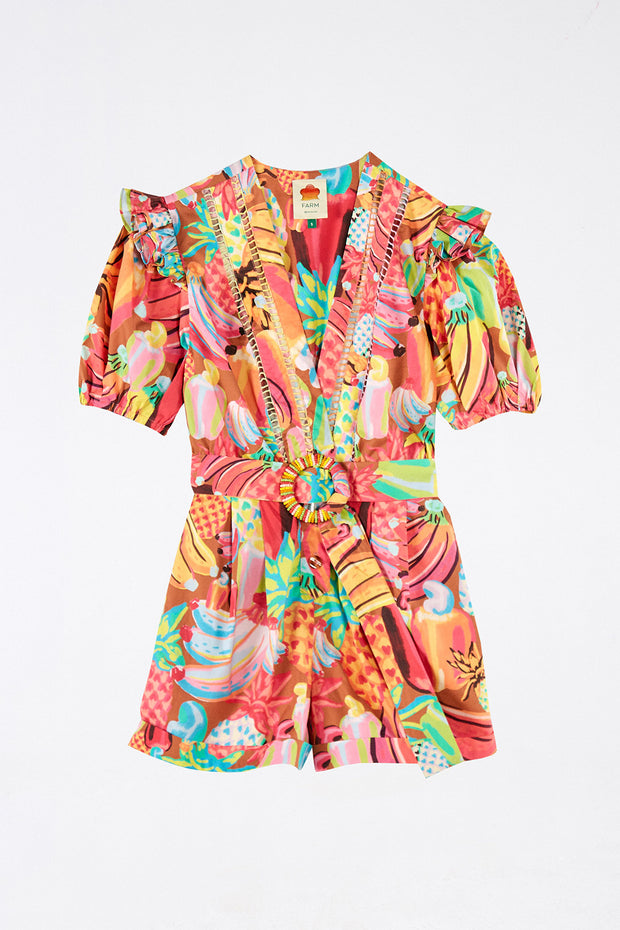 FRUIT SALAD ROMPER