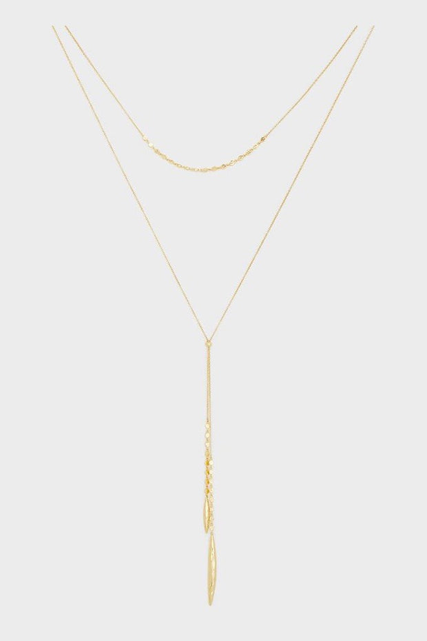 CHLOE MINI LAYERED NECKLACE- GOLD
