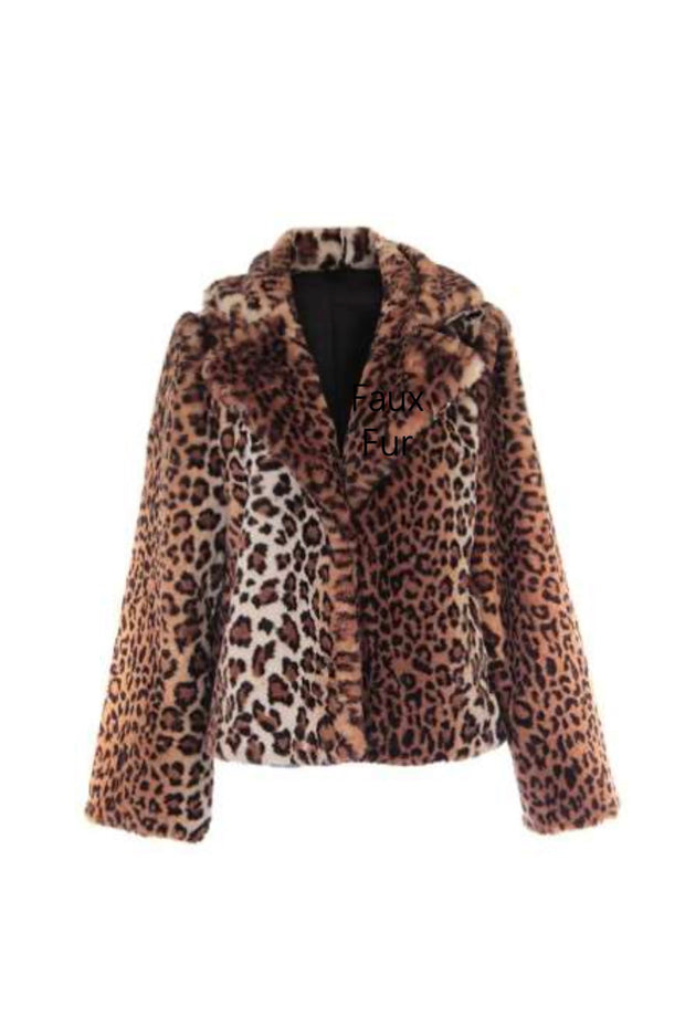 FAUX FUR JACKET (74674)