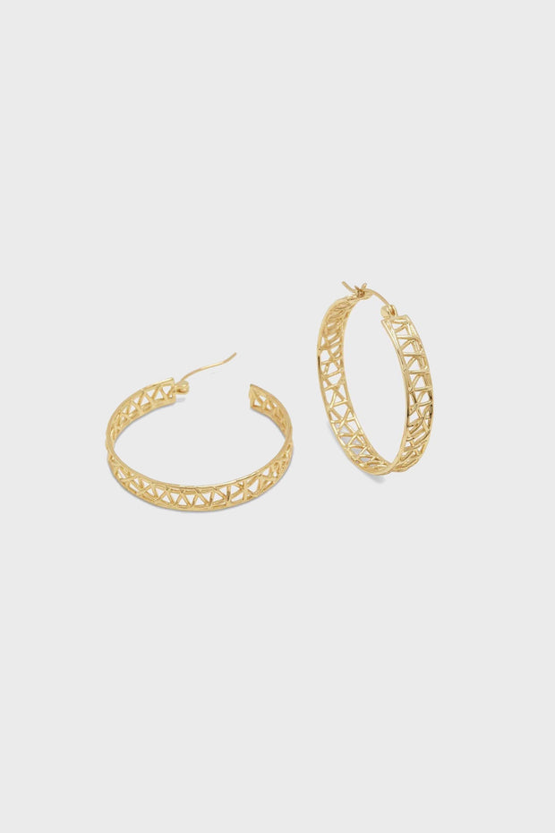 TULUM HOOPS- GOLD