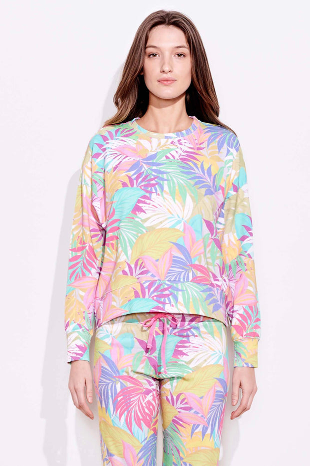 TROPICAL OVERSIZE SWEATSHIRT