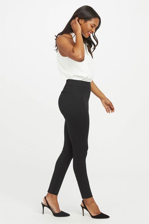 PONTE BACKSEAM SKINNY LEGGINGS
