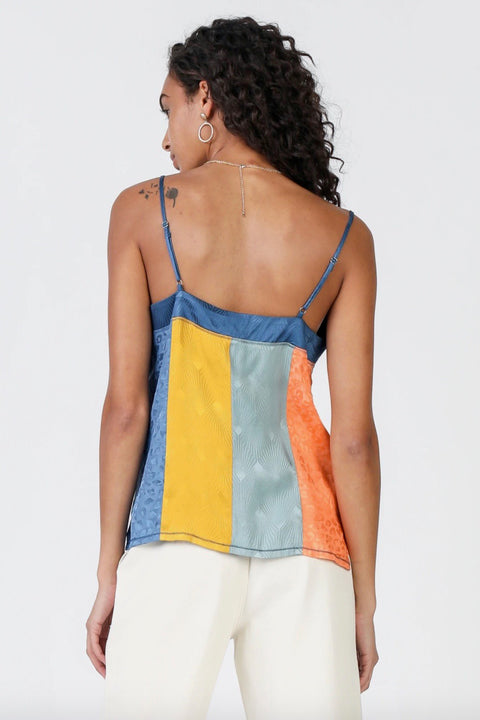 COLORBLOCK CAMI TOP