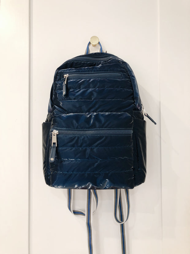 SHINY NYLON BACKPACK