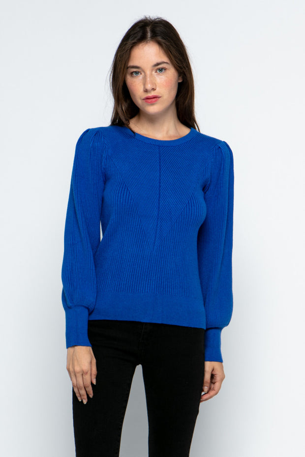 BALLOON SLV SWEATER (MSW8118)