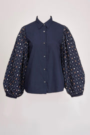 ZARMOT EMBROIDERED SHIRT