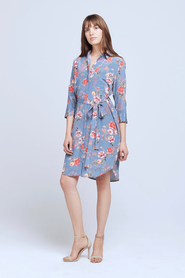 STELLA SHORT SHIRT DRESS