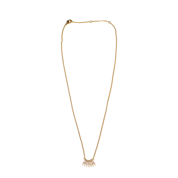 PETITE CRYSTAL MADELINE NECKLACE