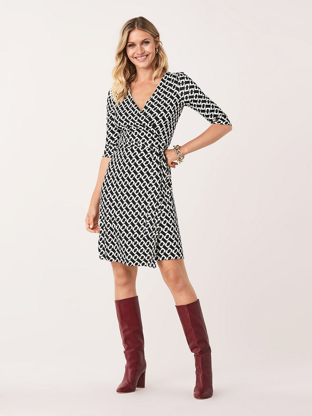 NEW JULIAN TWO WRAP DRESS