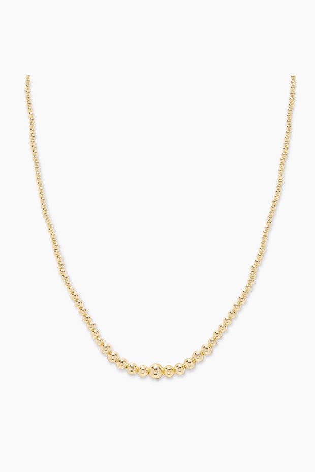 CANYON BEADED NECKLACE- GOLD