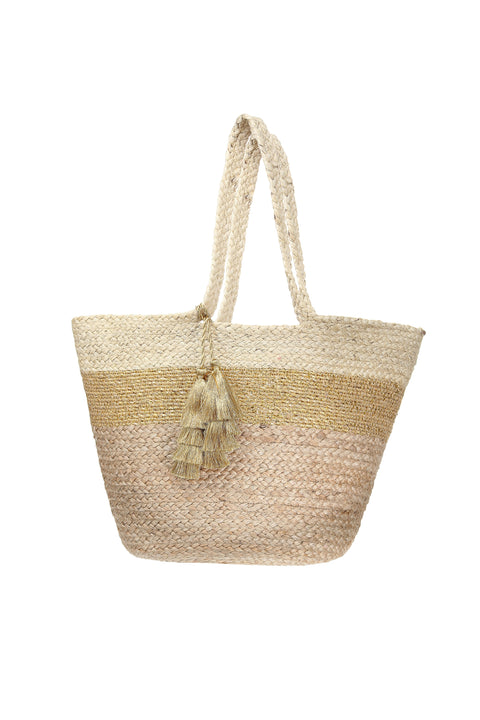 RIO METALLIC JUTE BAG