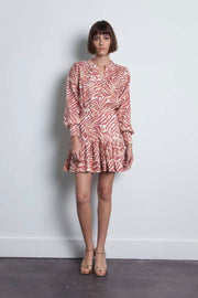 ZULI PRINT MINI DRESS