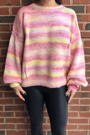 STRIPE SWEATER (MSW8738)