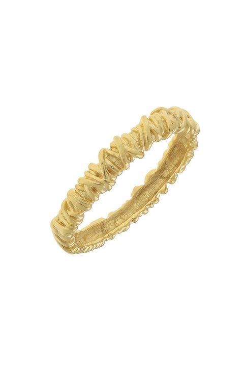 VINTAGE PARIS BANGLE- GOLD