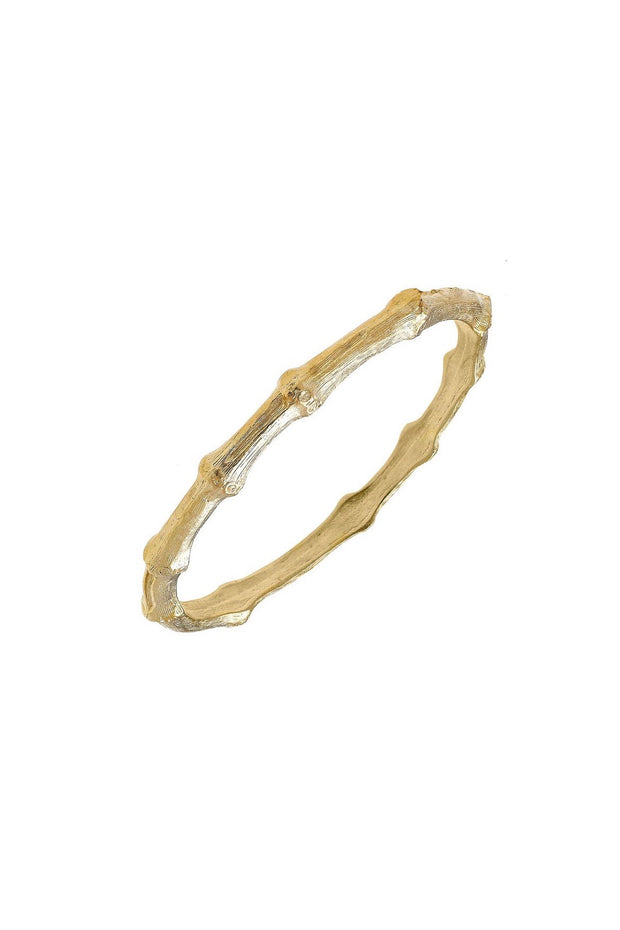 BAMBOO BANGLE- GOLD