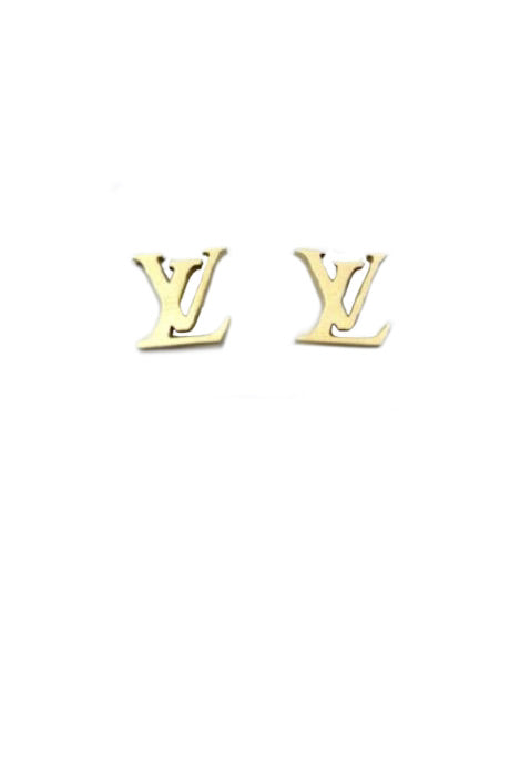 LV EARRINGS- GOLD