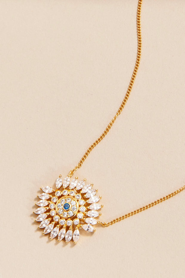 MADELINE CRYSTAL EYE NECKLACE