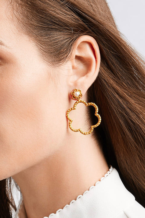 COLETTE STATEMENT EARRING- GOLD