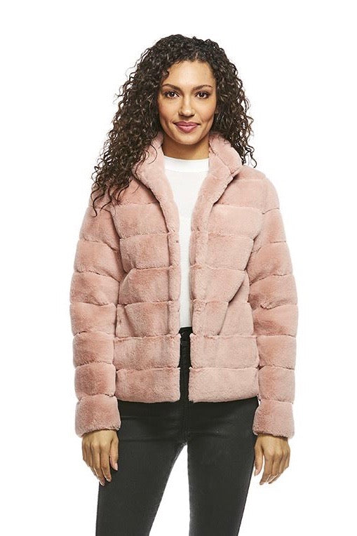 PERFECT LITTLE FAUX FUR JACKET