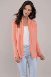COTTON CASHMERE MINI DUSTER