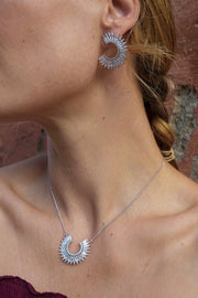 CRYSTAL MADELINE NECKLACE