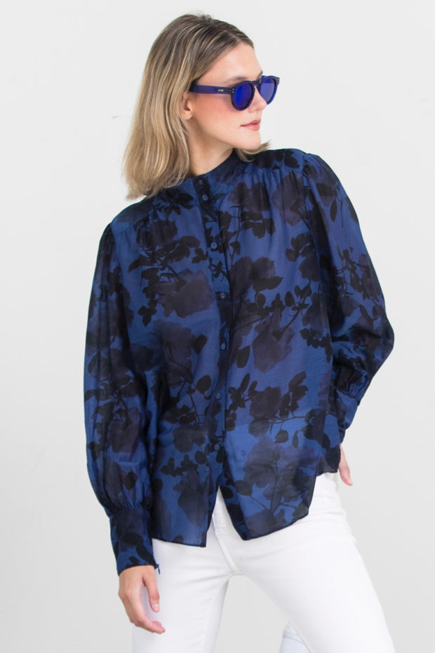 WHATS UP YR SLEEVE BLOUSE PRINT