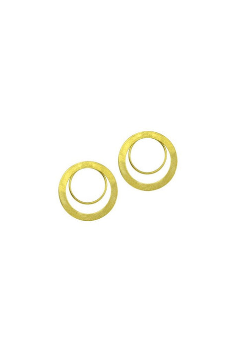 YASMIN LG CIRCLE EARRINGS