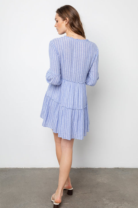 EVERLY LONG SLEEVE DRESS