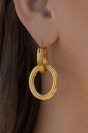 BYZANTINE 2 IN 1 EARRING